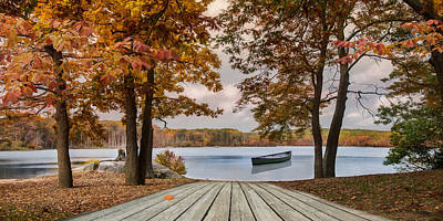 Photograph - On The Lake by Robin-Lee Vieira