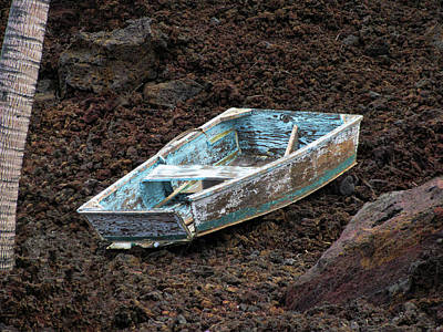 Photograph - On The Lava Rocks by Pamela Walton
