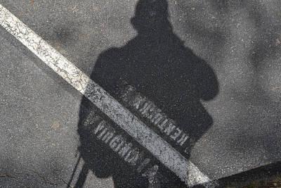 Photograph - On The Line Virginia Kentucky Cumberland Gap by RD Erickson