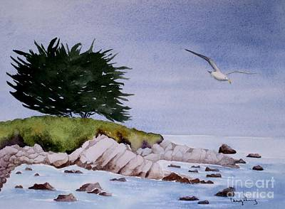 Painting - On The Lookout by Penny Stroening