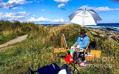 Photograph - On The Maine Coast by Francois Lamothe