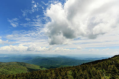 Photograph - On The Mountain - In The Clouds by Joni Eskridge