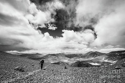 Photograph - On The Nevado Ojos Del Salado by Olivier Steiner