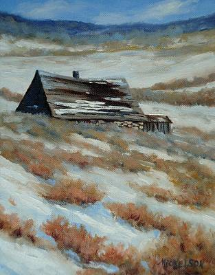 Painting - On The Old Whirl Ranch by Debra Mickelson