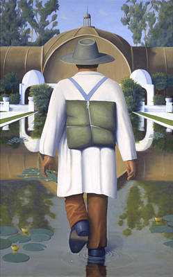 Metaphysical Painting - On The Path Of Knowing by Paul Bond
