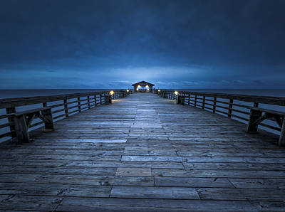 Photograph - On The Pier by Van Sutherland