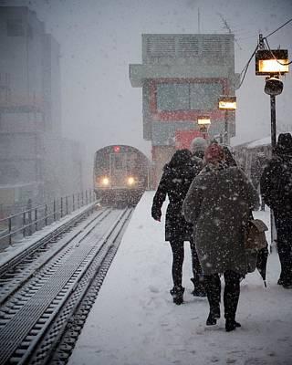 Photograph - On The Platform by Robert Nguyen