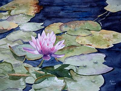On The Pond Art Print by Bobbi Price