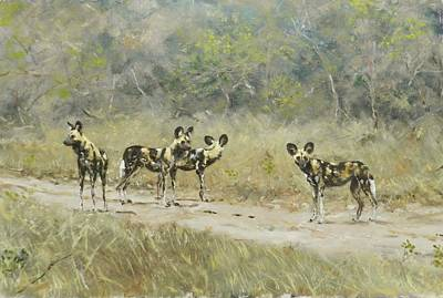 Painting - On The Prowl II by Robert Teeling