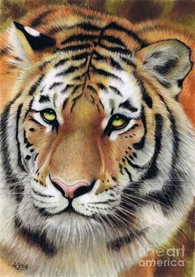 On The Prowl Art Print by Karen Hull