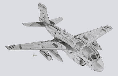 Prowler Drawing - On The Prowl by Nicholas Linehan