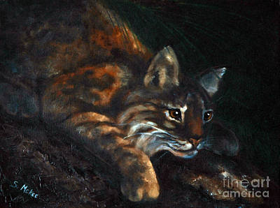Painting - On The Prowl by Suzanne McKee