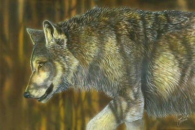 Painting - On The Prowl by Wayne Pruse
