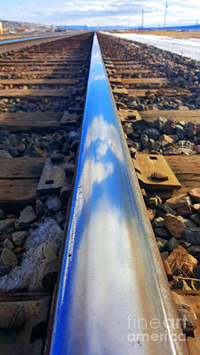 Photograph - On The Rail by Robert WK Clark