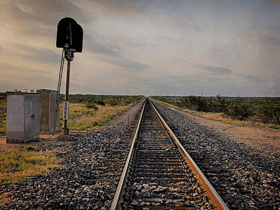 Photograph - On The Rails by Charles McKelroy