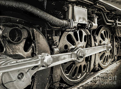 Photograph - On The Rails by John Anderson