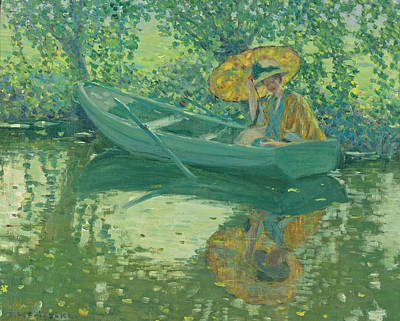 Painting - On The River by Frederick Carl Frieseke