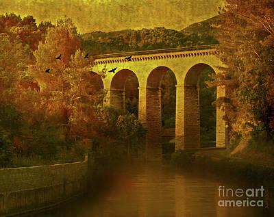 On The River Art Print by KaFra Art