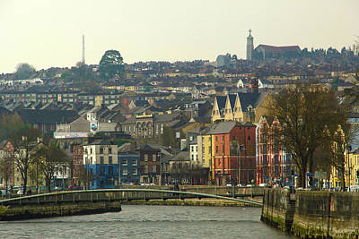 On The River Lee, Cork Ireland Art Print