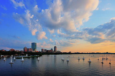 Charles River Photograph - On The River by Rick Berk