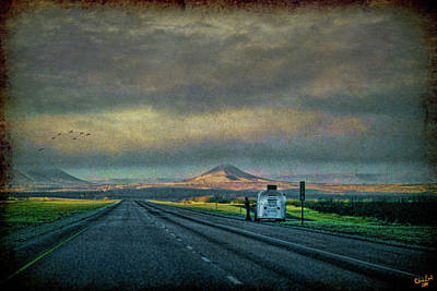 Photograph - On The Road Again by Chris Lord