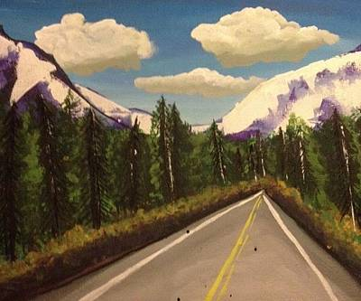 Painting - On The Road Again by Oasis Tone