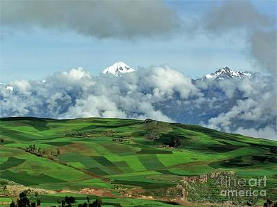 On The Road From Cusco To Urubamba Art Print