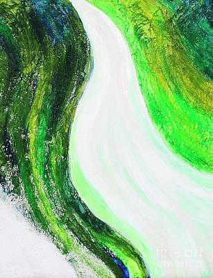 Painting - On The Road In Green by Sarahleah Hankes