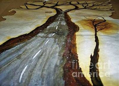 Painting - On The Road Of The Tree Of Life by Talisa Hartley
