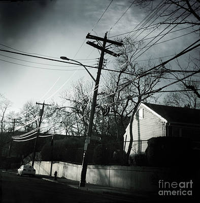 Photograph - On The Road - Suburbia by Miriam Danar