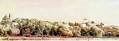 Photograph - On The Road To Castiglione Del Lago by Dorothy Berry-Lound