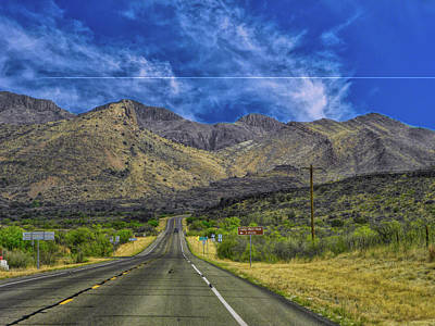 Photograph - On The Road To Ft. Davis by Michael Ziegler