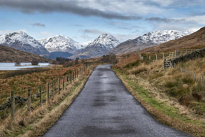 Photograph - On The Road To Inversnaid In Scotland by Jeremy Lavender Photography