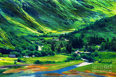 Photograph - On The Road To Loch Ness by Judi Bagwell