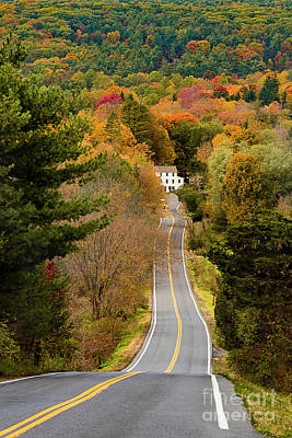 On The Road To New Paltz Art Print