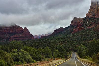 Photograph - On The Road To Red Rocks  by Saija  Lehtonen