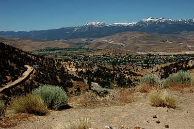 Lichen Photograph - On The Road To Virginia City Nevada 20 by LeeAnn McLaneGoetz McLaneGoetzStudioLLCcom