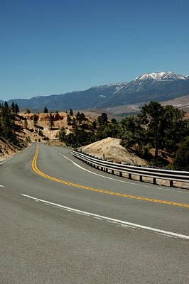 Lichen Photograph - On The Road To Virginia City Nevada 22 by LeeAnn McLaneGoetz McLaneGoetzStudioLLCcom