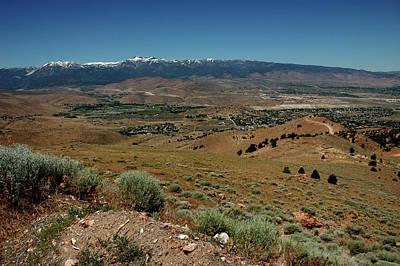 North America Photograph - On The Road To Virginia City Nevada 9 by LeeAnn McLaneGoetz McLaneGoetzStudioLLCcom