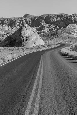 Photograph - On The Road Valley Of Fire State Park  by John McGraw