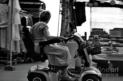 Photograph - On The Road With Granny by Michelle Meenawong
