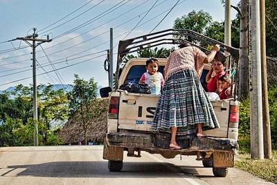 Photograph - On The Roads Of Guatemala by Tatiana Travelways