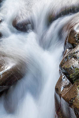 Water Fall Photograph - On The Rocks by Az Jackson