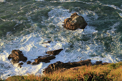 Photograph - On The Rocks by Bonnie Follett