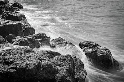 Photograph - Ocean Rocks by Debbie Ann Powell