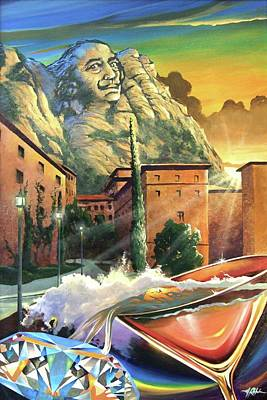 Painting - On The Rocks by James R Hahn