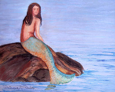 Painting - On The Rocks by Patricia Beebe
