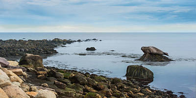 Print featuring the photograph On The Rocks by Robin-Lee Vieira