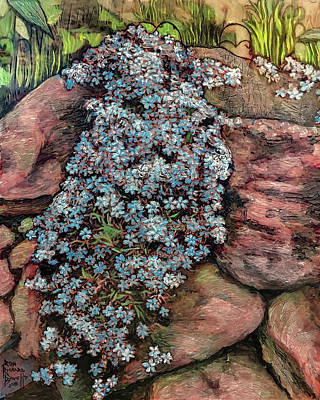 Painting - On The Rocks by Ron Richard Baviello