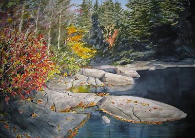 Dupont Painting - On The Rocks by Shirley Braithwaite Hunt